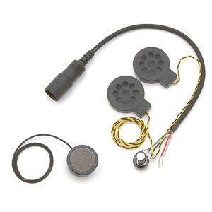 KTEL ケテル KT005 モノラル Vol.調整付 2スピーカーSET (ヘルメット 接続コード ヘッドセット)