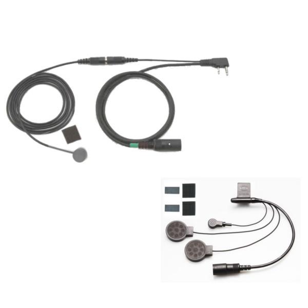 KTEL ケテル ハンディ無線機接続コード (ケンウッド無線機用SET) KTM139K-S (KTM138-S+KT030+KT032NK)