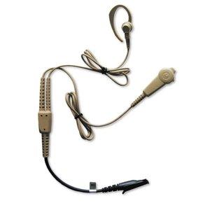 MOTOROLA / モトローラ 2ピースサーベランスイヤホンマイク(ベージュ) PMLN4998(PMLN4998A)(無線機・インカム・トランシーバー用)
