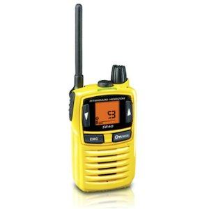 STANDARD/スタンダードSR40YELLOWイエロー特定小電力トランシーバー(無線機・インカム)