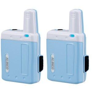 アルインコ特定小電力トランシーバーラペルトークDJ-PX7-BLブルー2台セット(無線機・インカム)