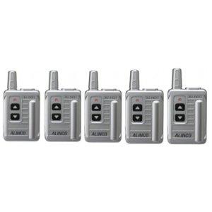 ALINCO アルインコ 特定小電力ガイドシステム DJ-TX315台セット(無線機・インカム)