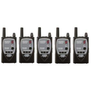 ALINCO アルインコ 薄型 特定小電力トランシーバー DJ-P921S (ショートアンテナ)5台セット 中継器対応(無線機・インカム)