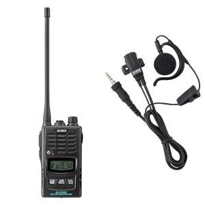 ALINCO アルインコ特定小電力トランシーバー+イヤホンマイクセットDJ-P240L+EME-654MA(無線機・インカム)