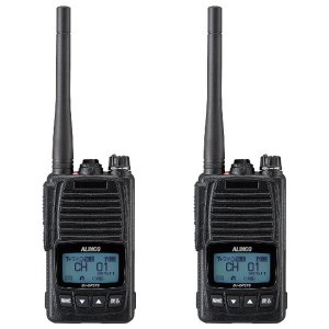 ALINCO アルインコ 5W デジタル30ch (351MHz) ハンディトランシーバー DJ-DPS70KA デジタル簡易無線 登録局2台セット(無線機・インカム)