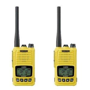 ALINCO アルインコ 5W デジタル30ch (351MHz) ハンディトランシーバー DJ-DPS70YA デジタル簡易無線 登録局2台セット(無線機・インカム)