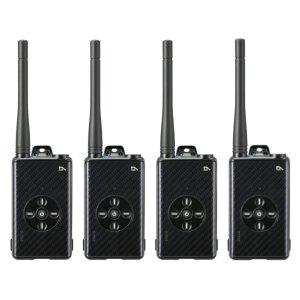 アルインコ デジタル簡易無線登録局 DJ-DPX1 KA4台セット(無線機・インカム)