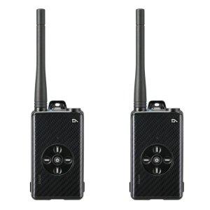 アルインコDJ-DPX2KAデジタル簡易無線登録局カーボンブラック2台セット(無線機・インカム)