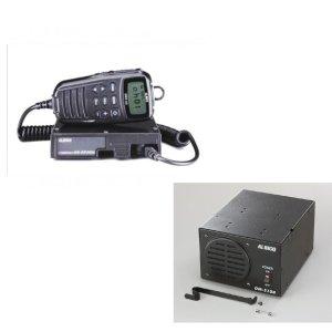 ALINCO アルインコ 5W デジタル30ch (351MHz)モービルトランシーバー+AC100VセットDR-DP50M+DM-S104(無線機・インカム)