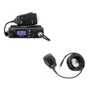 ALINCO アルインコ 5W デジタル30ch (351MHz) モービルトランシーバー+ツインマイクセット DR-DPM60+EMS-501(無線機・インカム)