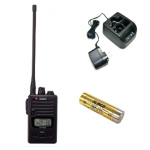 ALINCO アルインコ 特定小電力トランシーバー+充電器+バッテリーセットDJ-P222L+EDC-181A+EBP-179(無線機・インカム)