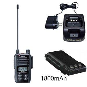 ALINCO アルインコ 特定小電力トランシーバー+充電器+バッテリーセットDJ-P45+EDC-180A+EBP-78(無線機・インカム)