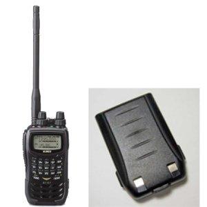 ALINCO アルインコトリプルバンド144/430/1200MHzFM 1~5Wトランシーバー+バッテリーパックDJ-G7+EBP-73(無線機・インカム)