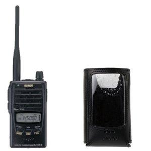 ALINCO アルインコモノバンド144MHzFM2Wトランシーバー+ソフトケースセットDJ-S12+ESC-62(無線機・インカム)