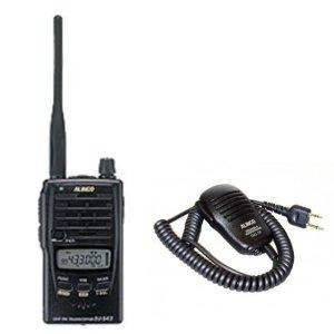 ALINCO アルインコモノバンド430MHzFM2Wトランシーバー+スピーカーマイクセットDJ-S42+EMS-59(無線機・インカム)