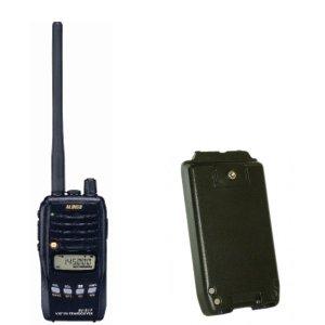 ALINCO アルインコモノバンド144MHzFM5Wトランシーバー+バッテリーセットDJ-S17L+EBP-64(無線機・インカム)