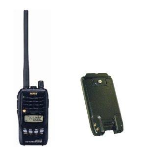 ALINCO アルインコモノバンド144MHzFM5Wトランシーバー+バッテリーセットDJ-S17L+EBP-63A(無線機・インカム)