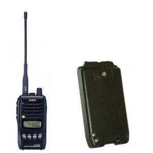 ALINCO アルインコモノバンド430MHz FM5Wトランシーバー+バッテリーセットDJ-S47L+EBP-64(無線機・インカム)
