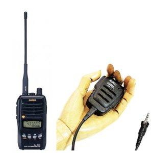 ALINCO アルインコモノバンド430MHz FM5Wトランシーバー+スピーカーマイクセットDJ-S47L+EMS-71(無線機・インカム)
