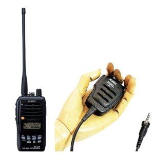 ALINCO アルインコデュアルバンド 144/430MHzFM5Wトランシーバー+スピーカーマイクセットDJ-S57+EMS-71(無線機・インカム)