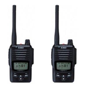 ALINCO アルインコDJ-DP50Hデジタル簡易無線(登録局)2台セット(無線機・インカム)