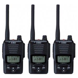 ALINCO アルインコDJ-DP50HBデジタル簡易無線(登録局)3台セット(無線機・インカム)