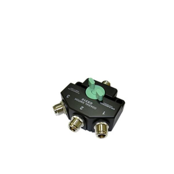第一電波工業ダイヤモンドアンテナDIAMOND ANTENNA CX310N 同軸切換器【1回路3接点】
