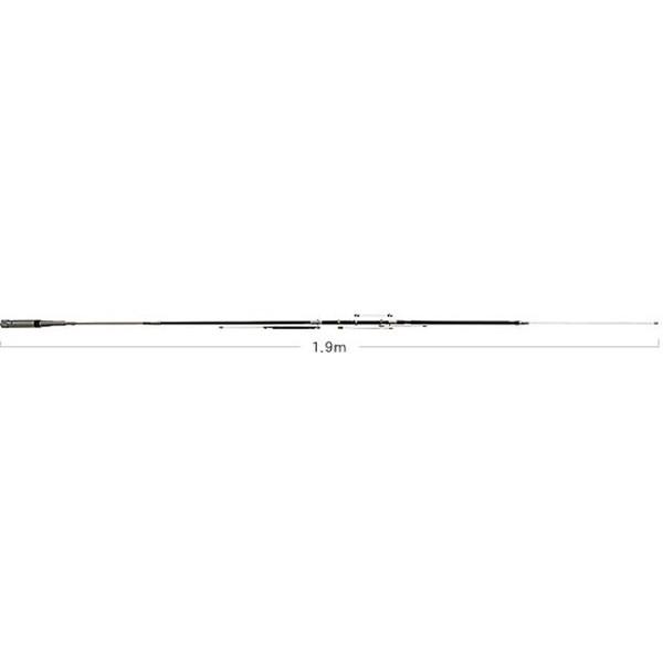 第一電波工業ダイヤモンドアンテナDIAMOND ANTENNA HV7CX 7/(※10/14)/21/28/50/144/430MHz帯高能率モービルアンテナ(DIGITAL対応)