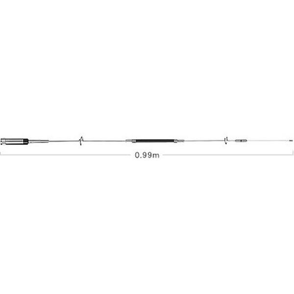 第一電波工業ダイヤモンドアンテナDIAMOND ANTENNA NR950M 144/430/900MHz帯&エアーバンド/150/300/450/800MHz帯受信対応8バンドノンラジアルモービルアンテナ