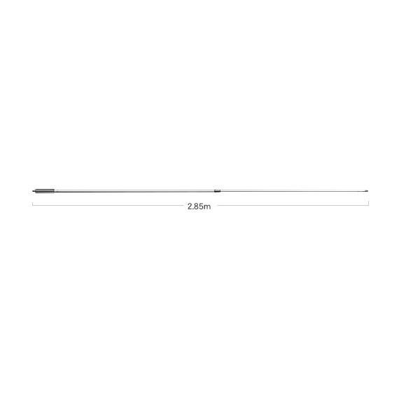 -代引き対応不可-【大型商品A】第一電波工業ダイヤモンドアンテナDIAMOND ANTENNA SE300 144/430MHz帯マリン・基地局用高利得ノンラジアルアンテナグラスファイバー製