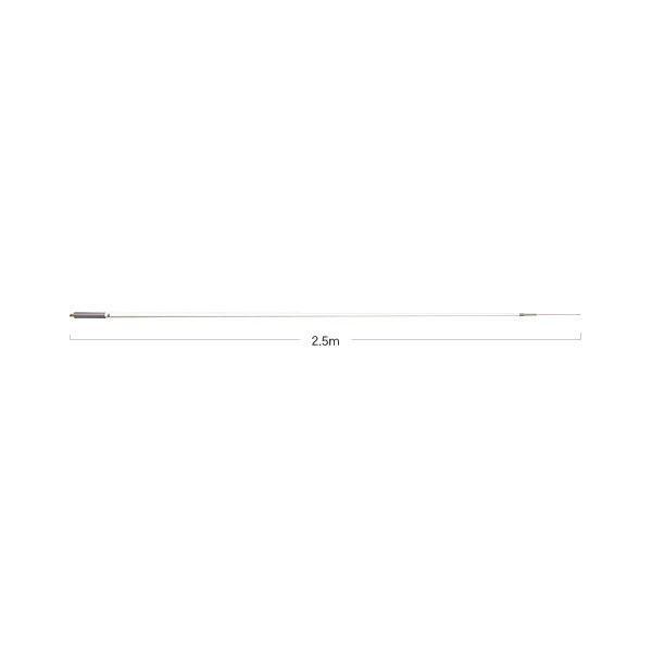 -代引き対応不可-【大型商品A】第一電波工業ダイヤモンドアンテナDIAMOND ANTENNA SE6A 50MHz帯マリン・基地局用高利得ノンラジアルアンテナグラスファイバー製