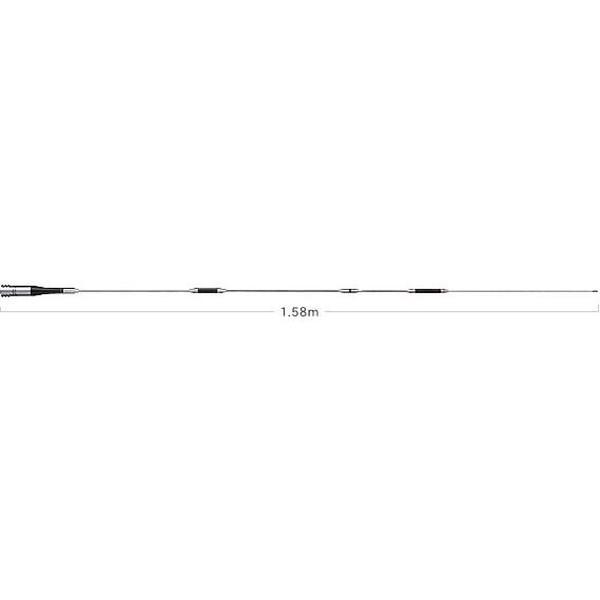 第一電波工業ダイヤモンドアンテナDIAMOND ANTENNA SG7900 144/430MHz帯高利得2バンドモービルアンテナ