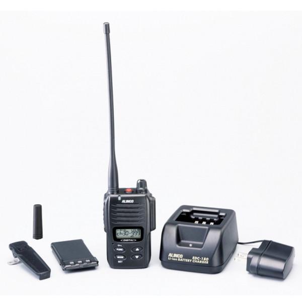 ALINCO アルインコ デジタル簡易無線・登録局(3R 陸上)1W デジタル30ch (351MHz) ハンディトランシーバー DJ-DP10(B)