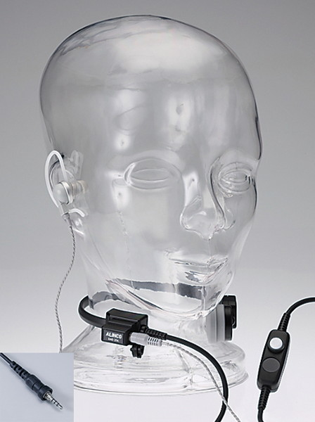 ALINCO アルインコ EME-62A 咽喉イヤホンマイク 防水ねじ込みプラグ DJ-P22 / P221 / P222シリーズ等対応