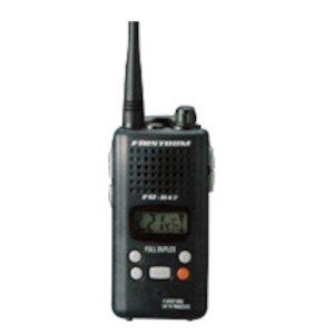 FRC/エフ・アール・シー同時通話対応FC-B47-GM特定小電力トランシーバー/ブラック(無線機・インカム)