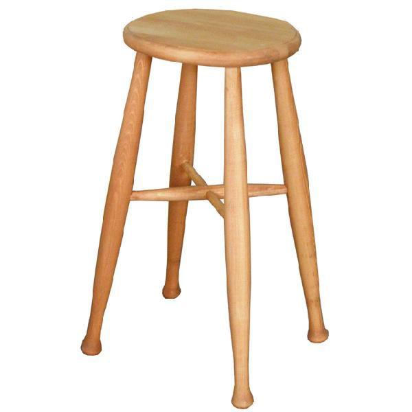 スツール チェアー イス 椅子 いす インテリア 木製 ナチュラル ブランド品 家具 美品 42cm幅 カントリー風
