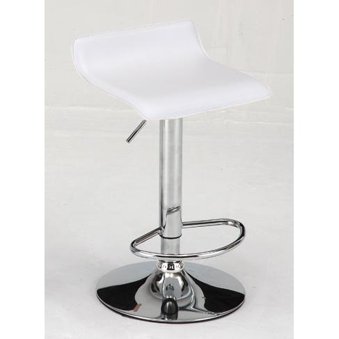 カウンターチェアー バーチェアー バースツール カウンタースツール イス 椅子 合皮製 シンプル ホワイト 白
