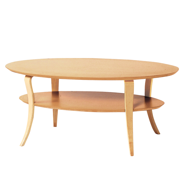 センターテーブル ローテーブル リビングテーブル コーヒーテーブル てーぶる 木製 100cm幅 幅100cm 棚付き ナチュラル