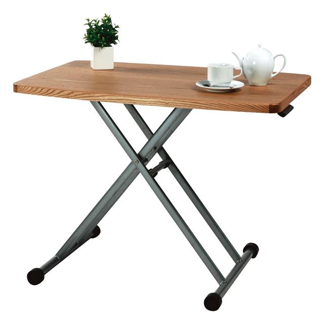 センターテーブル ローテーブル リビングテーブル コーヒーテーブル てーぶる 木製 90cm幅 幅90cm昇降式 ナチュラル