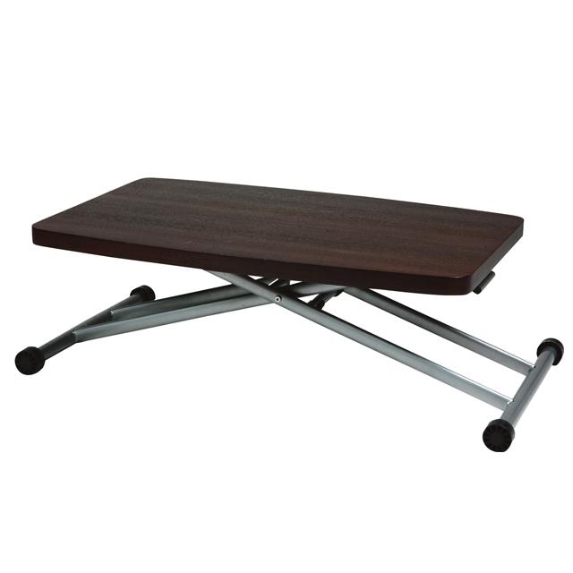 センターテーブル ローテーブル リビングテーブル コーヒーテーブル てーぶる 木製 90cm幅 幅90cm昇降式 ブラウン