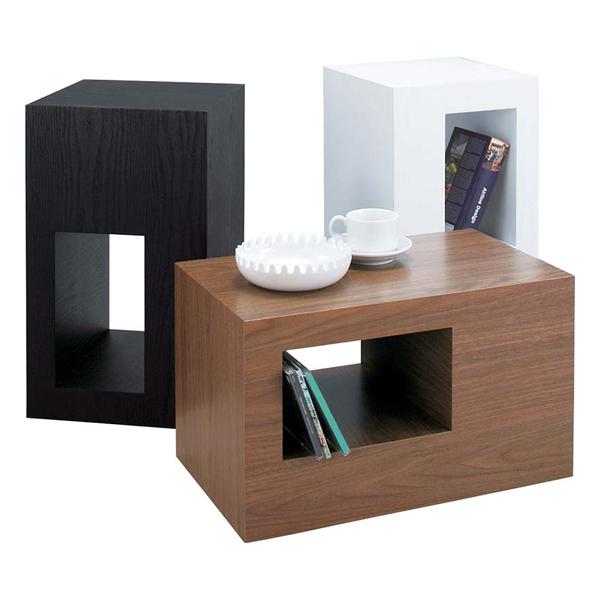 サイドテーブル ローテーブル リビングテーブル 木製 北欧風 28cm幅 ブラック 黒 ブラウン ホワイト 白 ソファーテーブル ベッドテーブル コーナーテーブル ソファーサイドテーブル ベッドサイドテーブル コーヒーテーブル