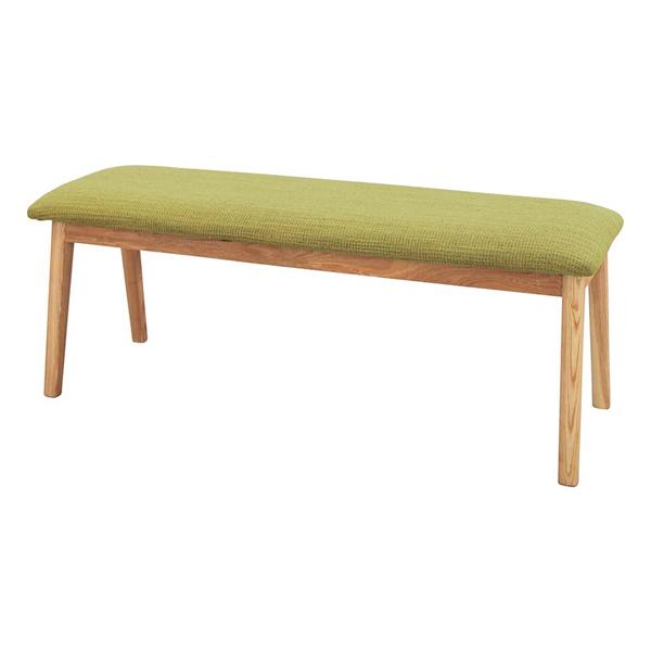 ダイニングベンチ ダイニングチェアー 木製 北欧風 グリーン 緑 ベンチチェアー 椅子 いす