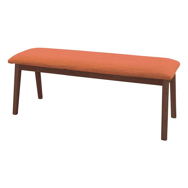 ダイニングベンチ ダイニングチェアー 木製 北欧風 ブラウン ベンチチェアー 椅子 いす