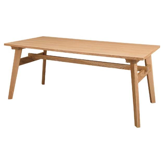 ダイニングテーブル 木製 カントリー風 160cm幅 幅160cm ナチュラル 4人用 四人用 食堂テーブル 食卓テーブル カフェテーブル てーぶる