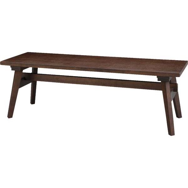 ダイニングベンチ ダイニングチェアー 木製 カントリー風 120cm幅 幅120cm ブラウン ベンチチェアー 椅子 いす