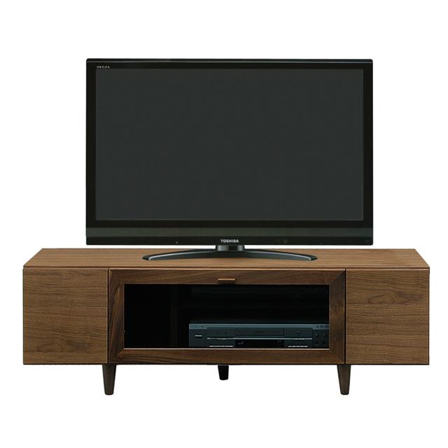 テレビ台 テレビボード ローボード 完成品 木製 モダン 120cm幅 幅120cmロータイプテレビボード TVボード てれび台 TV台 リビングボード AV収納 テレビラック ブラウン 40インチ対応 40型対応