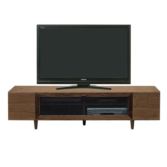 テレビ台 テレビボード ローボード 完成品 木製 モダン 160cm幅 幅160cmロータイプテレビボード TVボード てれび台 TV台 リビングボード AV収納 テレビラック ブラウン 52インチ対応 52型対応