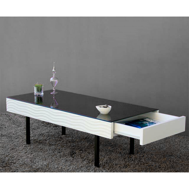 Center table coffee table living room coffee table tables stylish 105 cm  width 105 cm imports Japan-white