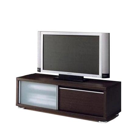 テレビ台 テレビボード ローボード 完成品 引き戸 モダン 120cm幅 幅120cmロータイプテレビボード TVボード てれび台 TV台 リビングボード AV収納 テレビラック ブラウン 40インチ対応 40型対応 国産品 日本製