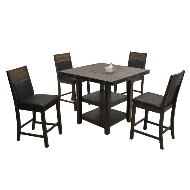 For Dining Room Set Table Cafe Tables Of 5 Four 4 Seat Wooden